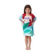 Disney Princess Beach Baño Con Capucha Ariel / Poncho Toalla