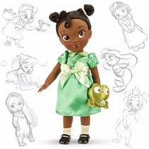 Disney Store Muñecas Animators Tiana Sapo Princesa Original