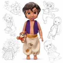 Disney Store Muñecas Animators Aladdin Original