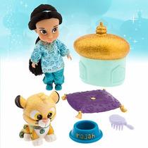 Disney Store Muñecas Animators Jasmin Jazmine Original