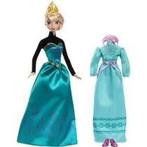 Disney Congelado Coronación Día Elsa Doll