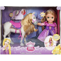 Disney Niño Y Caballo Doll - Rapunzel Y Maximus