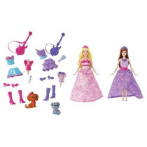 Barbie La Princesa Y El Popstar Mini-doll Giftset