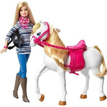 Barbie Doll Y Caballo
