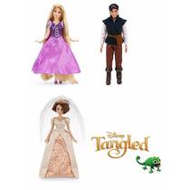 Disney Set Enredados - Rapunzel, Gothel, Flynn
