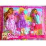 Set De Vestidos Y Accesorios Para Barbie