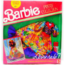 Barbie Private Collection Fashions Set Ropa #7097 1990
