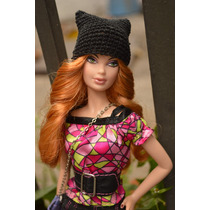 Hermosos Gorritos Con Orejas De Gato Para Tu Barbie