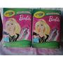 Barbie Crayola Termo 95 Piezas Para Decorar Botella