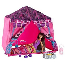 Barbie Hermanas Safari Doll Y Carpa Playset