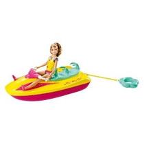 Barbie Hermanas Jet Ski Y Stacie Doll Set
