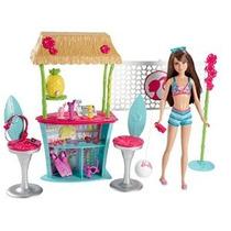 Barbie Hermanas Skipper Doll Y Tiki Hut Playset