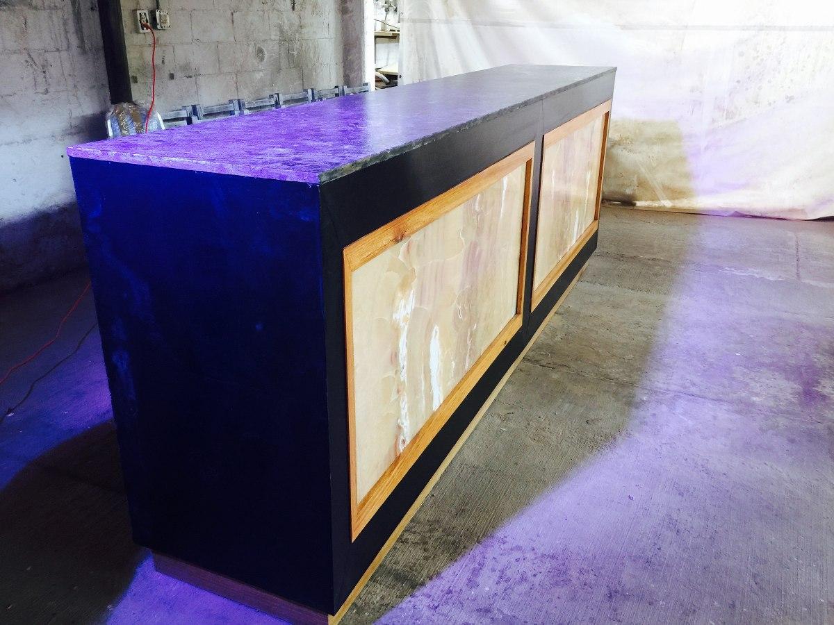 Barra para restaurante y bar en granito nix y roble for Barra de granito precio