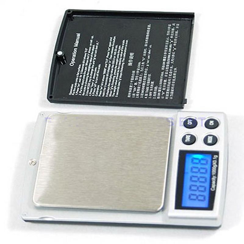 Báscula Digital Balanza Electrónica 1000 Gramos / 0.1 G