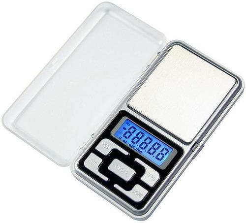 Bascula Electronica Para Joyería 500g / 0.1g Ultraportatil