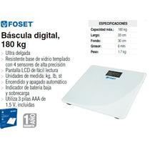 Bascula Digital Para Baño Foset 180 Kg