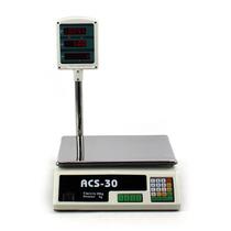 Bascula Digital 60 Lb Led Rojos Panel Medidora Peso Sensor