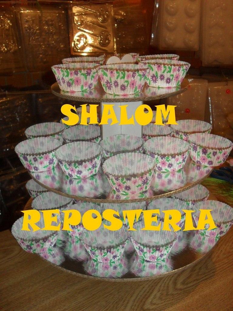 Pin panquecitos rosas de florecita cake on pinterest - Bases para cupcakes ...