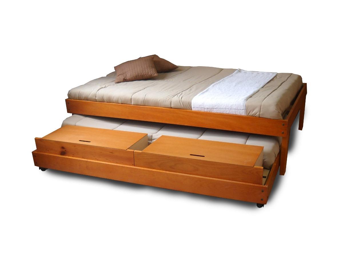 Base para cama o colch n matrimonial con base deslizante for Medidas de base de cama matrimonial