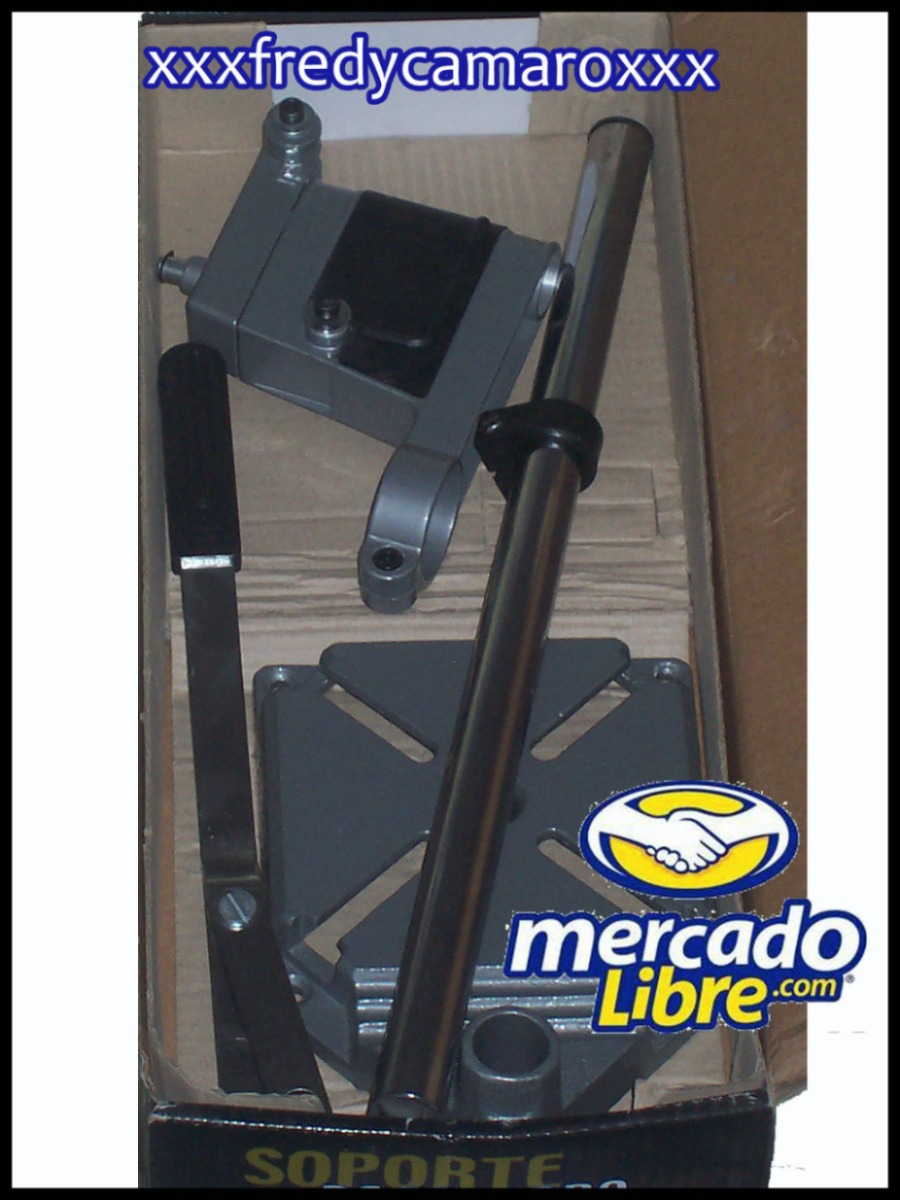 Base soporte para taladro de banco prensa morsa broca dvn - Soporte para taladro ...