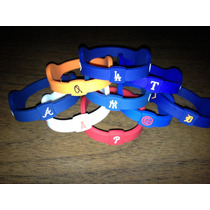 Pulsera Power Balance Edicion Mlb Yankees Boston Dodgers