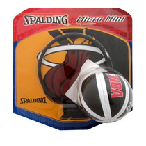 Mini Canasta Tablero Balon Pelota Basquet Nba Spalding E4f