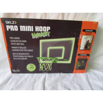 Mini Tablero Básquetbol Brilla Obscuridad Sklz Pro Mini Hoop
