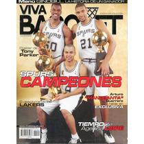 Spurs Campeones Nba Revista, Poster Parker, Carta Jordan