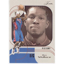 2002 - 03 Flair Ben Wallace Detroit Pistons