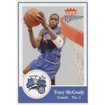 2003 - 04 Fleer Platinum Tracy Mc Grady Orlando Magic