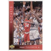1993 94 Upper Deck International Spanish Hakeem Olajuwon