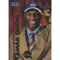 1999-00 Fleer Tradition Rookie Lamar Odom Clippers