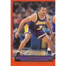 1999-00 Topps Derek Fisher Lakers