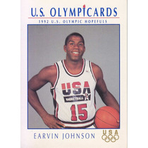 1992 Impel Usa Olympic Team Earvin Johnson Lakers