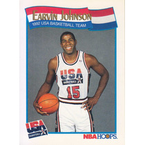 1991-92 Hoops Usa Earvin Magic Johnson Lakers