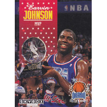 1992-93 Skybox All Star Mvp Earvin Magic Johnson Lakers