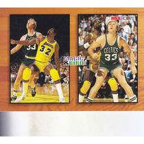 1993-94 Hoops Commemorative Magic Johnson Larry Bird