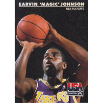 1992 Skybox Usa Nba Playoffs Earvin Magic Johnson Lakers