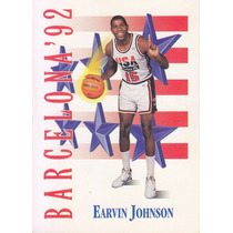 1991-92 Skybox Usa Barcelona 92 Earvin Magic Johnson Lakers