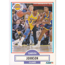 1990-91 Fleer Earvin Magic Johnson Lakers