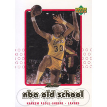 1999-00 Upper Deck Retro Nba Old School Kareem Abdul Jabbar