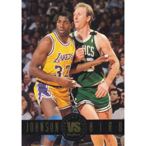 1993-94 Skybox Premium Showdown Magic Johnson Larry Bird
