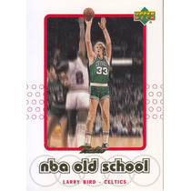 1999-00 Upper Deck Retro Nba Old School Larry Bird Celtics
