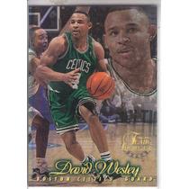 1996-97 Flair Showcase Row 1 David Wesley Celtics