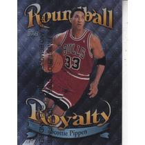 1998-99 Topps Roundball Royalty Scottie Pippen Bulls