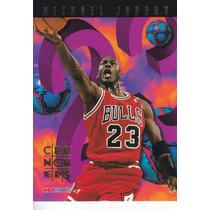 1995-96 Hoops Crunchers Michael Jordan Bulls