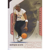 2001-02 Flair Michael Jordan Wizards