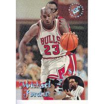 1995-96 Stadium Club Spike Says Michael Jordan Bulls
