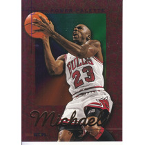 1995-96 Hoops Power Palette Michael Jordan Bulls