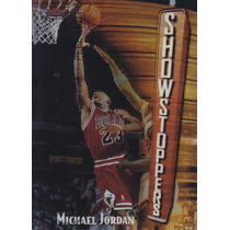 1997-98 Topps Finest Bronze Showstoppers Michael Jordan Chi